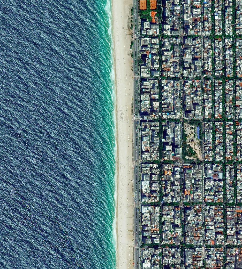 Лица Земли в уникальном ракурсе: снимки со спутников в проекте Бенджамина Гранта Daily Overview