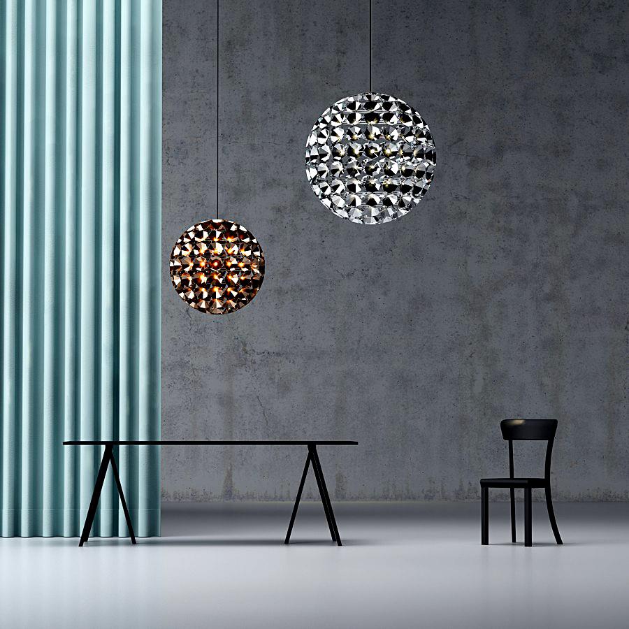 Круглые модные светильники от Daniel Becker