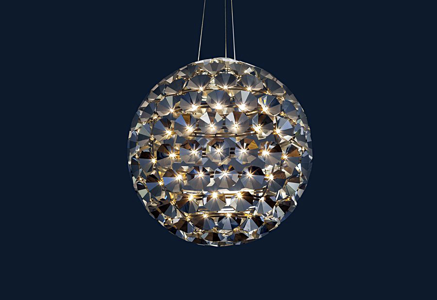 Удивительный круглый подвесной светильник от Daniel Becker