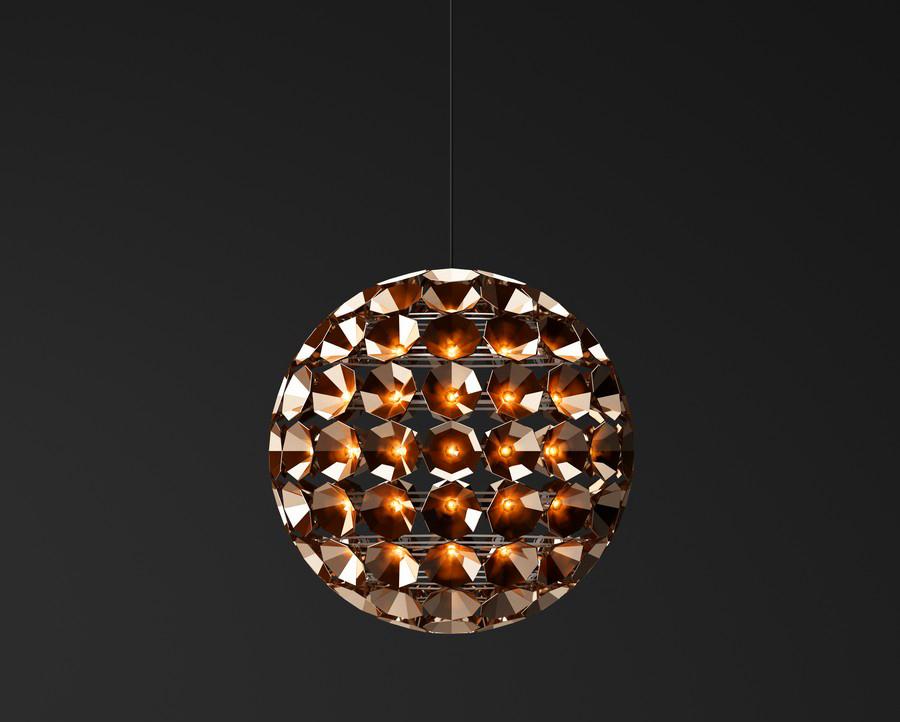 Восхитительный круглый подвесной светильник от Daniel Becker
