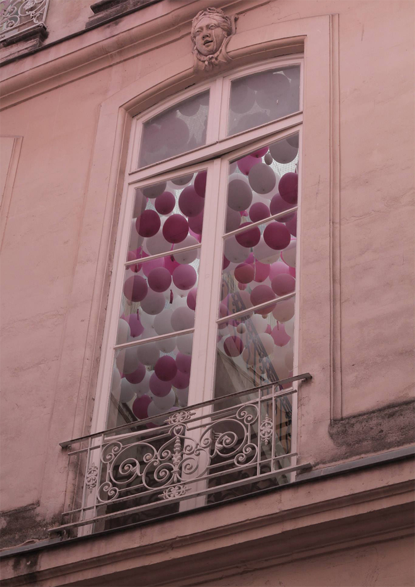 Инсталляция из воздушных шаров на Фестивале живой архитектуры в Монпелье, 2015