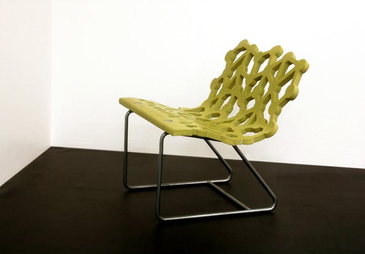Необычная сиденье - вид сбоку