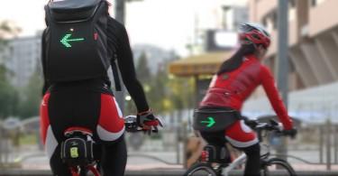 Велосипедисты с вспомогательными приборами