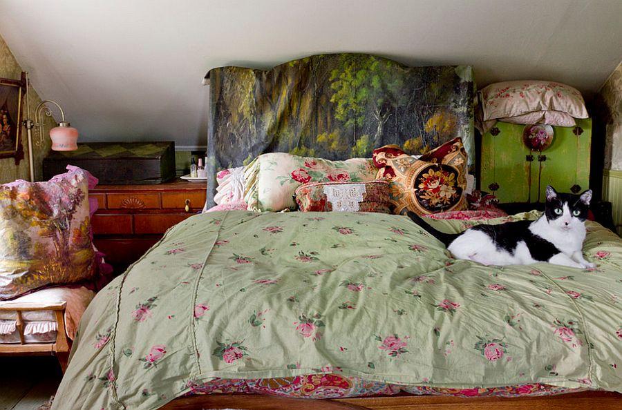 Шикарное изголовье кровати