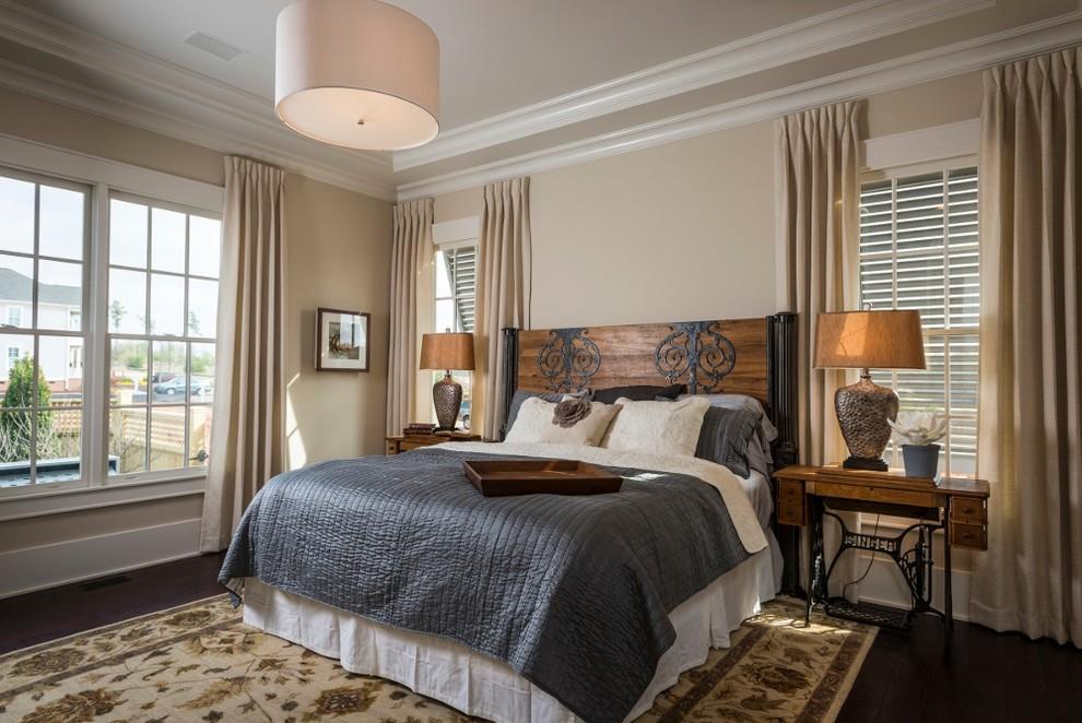 Интерьер спальни от Southern Traditions Window Fashions