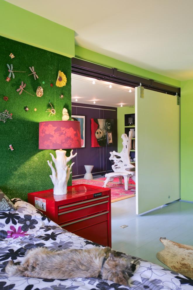 Оформление спальни от Rodriguez Studio Architecture PC