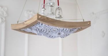 Дизайн в образе потолочного светильника от Мариам Айвазян и студии Made in love