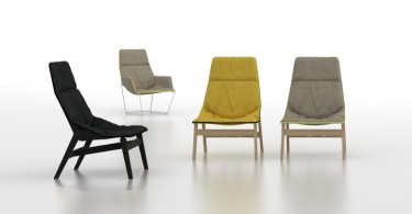 Деревянный стул ACE WOOD от дизайнера Jean-Marie Massaud