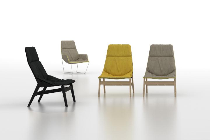 Креативные стулья ACE WOOD от дизайнера Jean-Marie Massaud