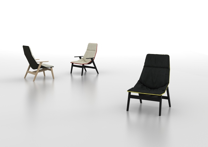 Чудесные стулья ACE WOOD от дизайнера Jean-Marie Massaud