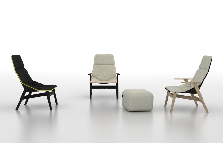Изумительные стулья ACE WOOD от дизайнера Jean-Marie Massaud