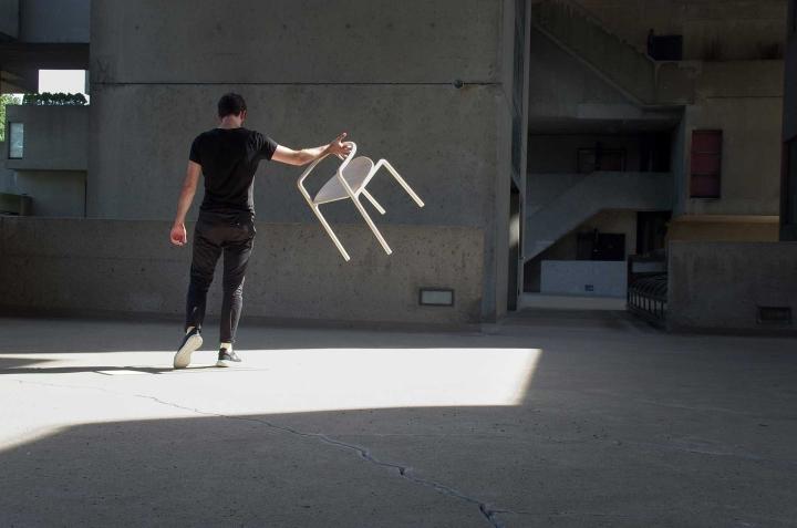 Бесподобный деревянный стул The Funambule от Loïc Bard & Nicolas Granger