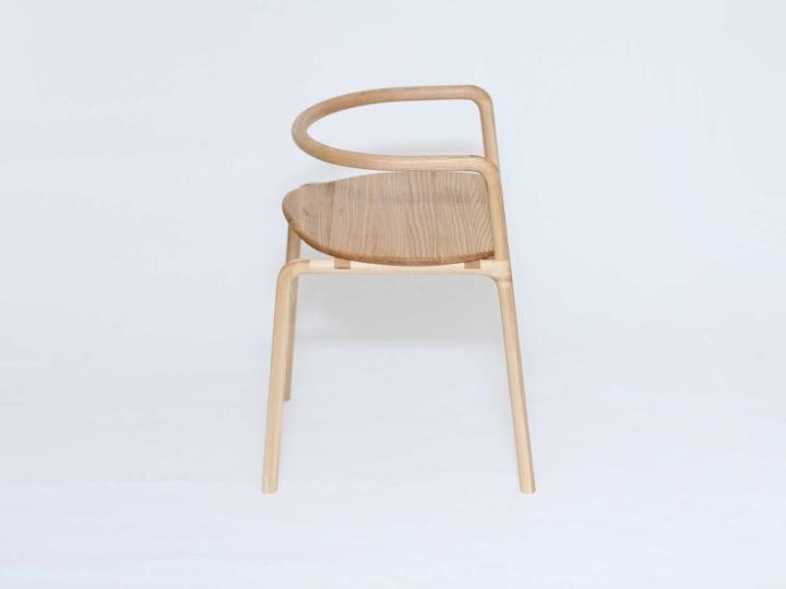 Удивительный деревянный стул The Funambule от Loïc Bard & Nicolas Granger