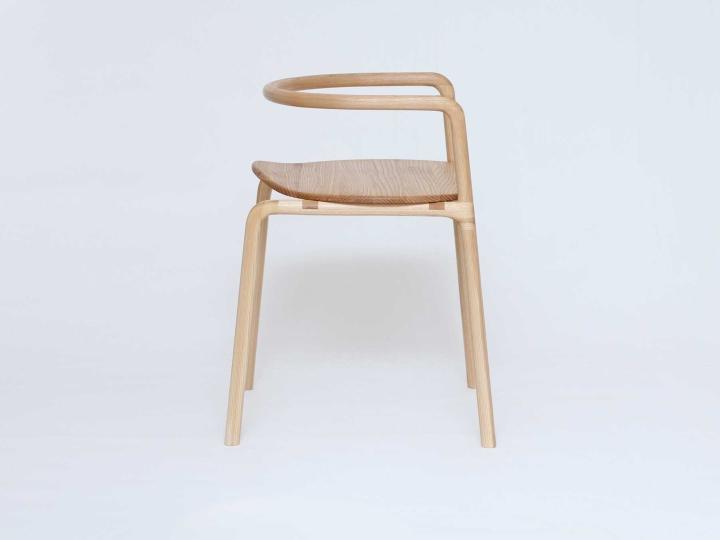 Замечательный деревянный стул The Funambule от Loïc Bard & Nicolas Granger