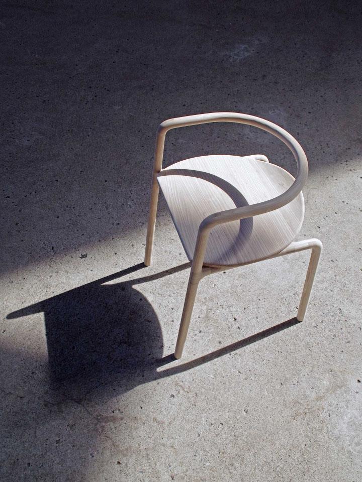 Восхитительный деревянный стул The Funambule от Loïc Bard & Nicolas Granger