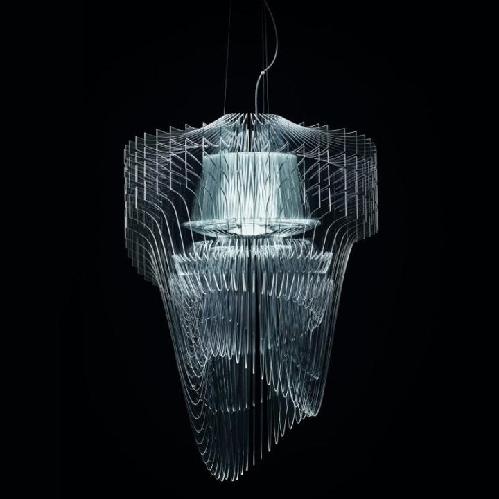 Удивительный светильник Transparent от Zaha Hadid