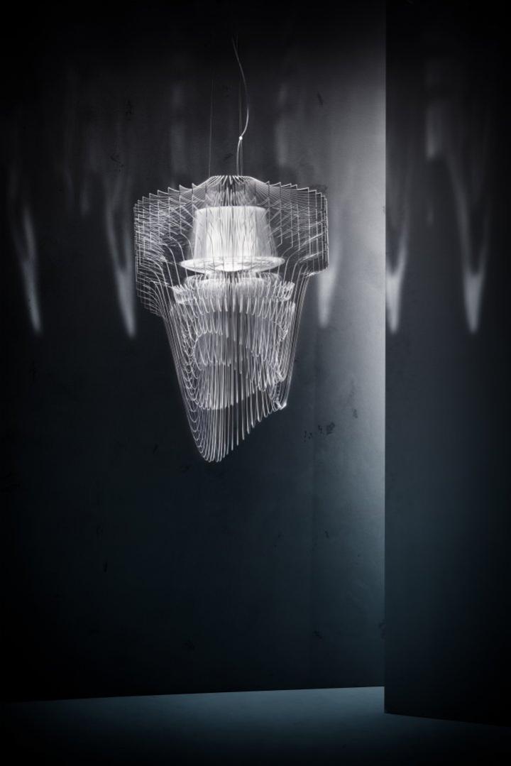 Уникальный светильник Transparent от Zaha Hadid