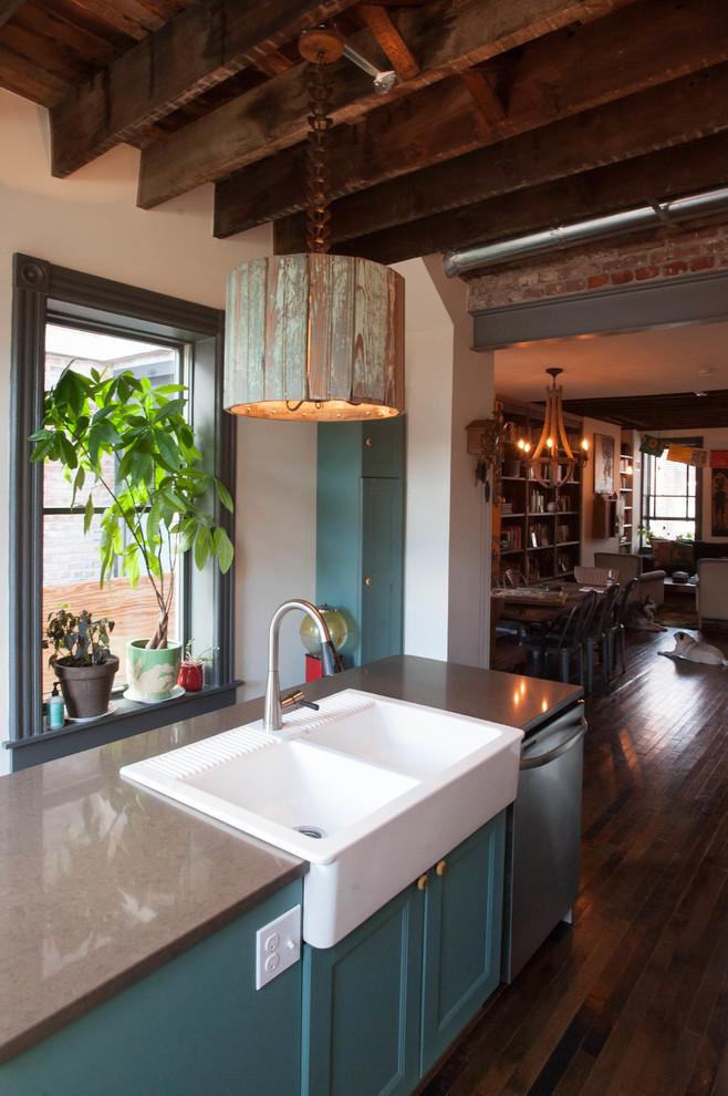 Подвесная лампа своими руками на кухне