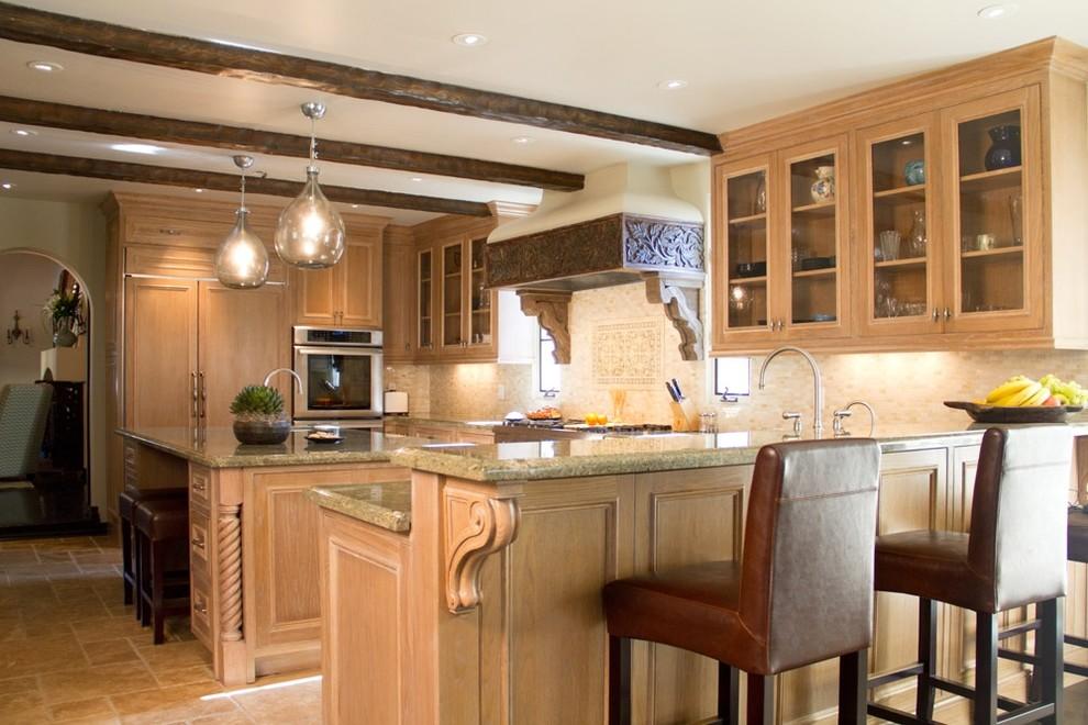 Стеклянные лампы на кухне своими руками
