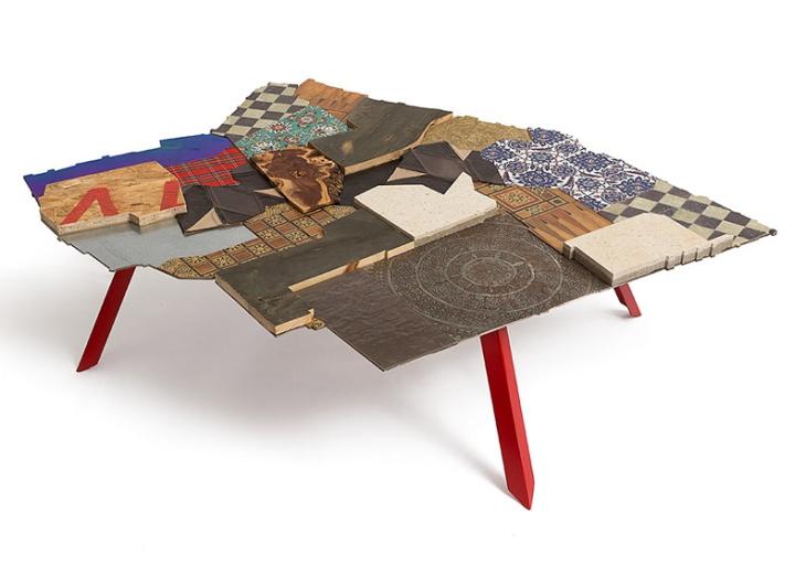 Эклектика на столе от Эзри Тарази