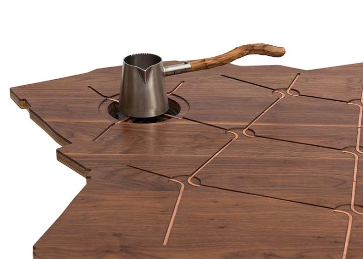 Встроенная плитка для кофеварки от Эзри Тарази