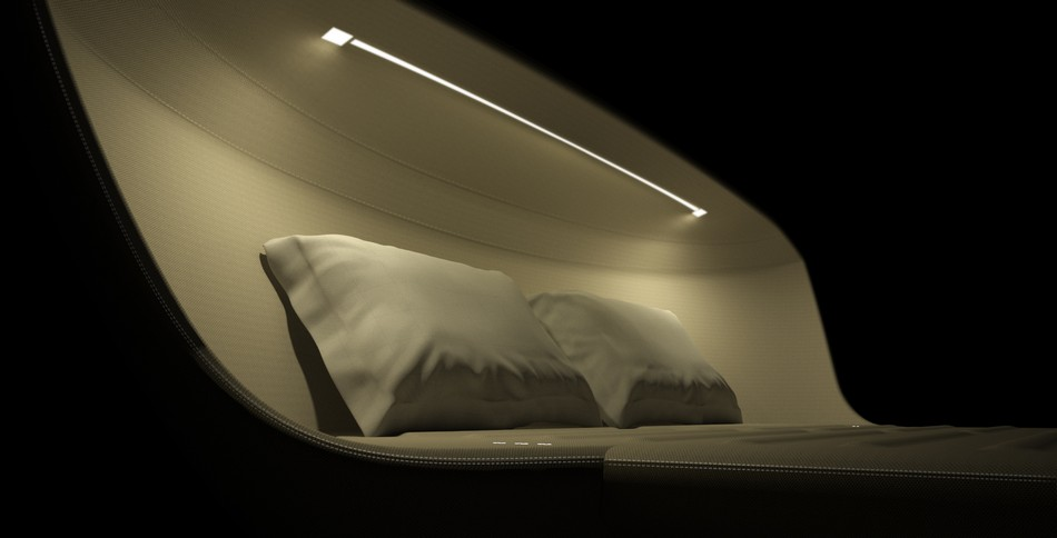 Ультрасовременный диван из будущего Sleeping Tomorrow от Axel Enthoven