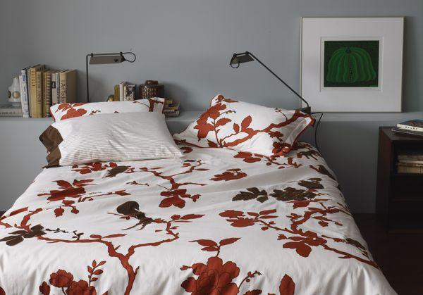 Осенняя тематика на постельном белье от Christiane Lemieux