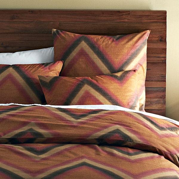 Геометрические рисунок на постельном белье