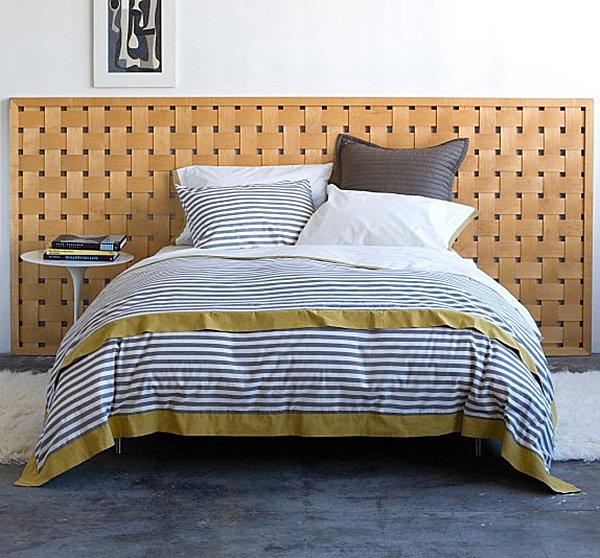 Полосатое постельное белье