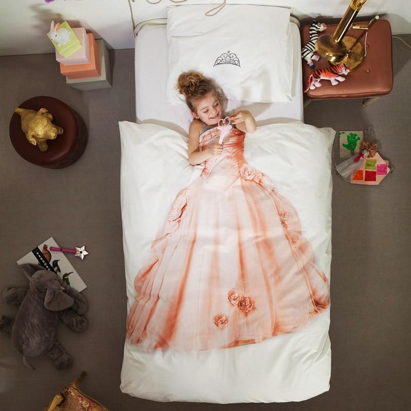 Принцесса на постельном белье от SNURK