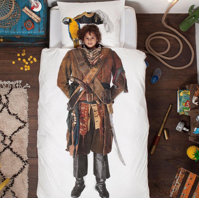 Пират на постельном белье от SNURK