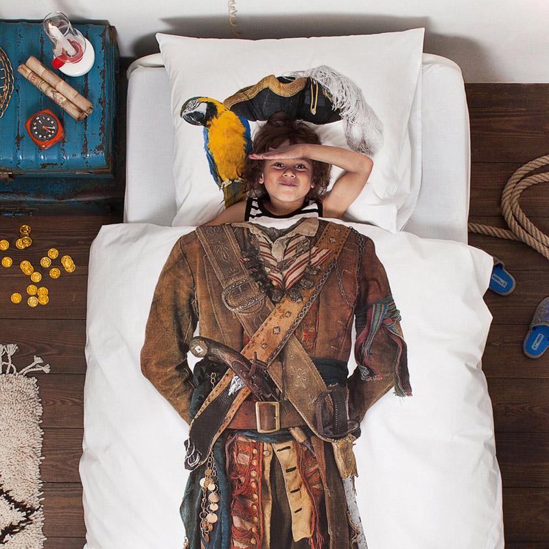 Постельное белье с рисунком пирата от SNURK