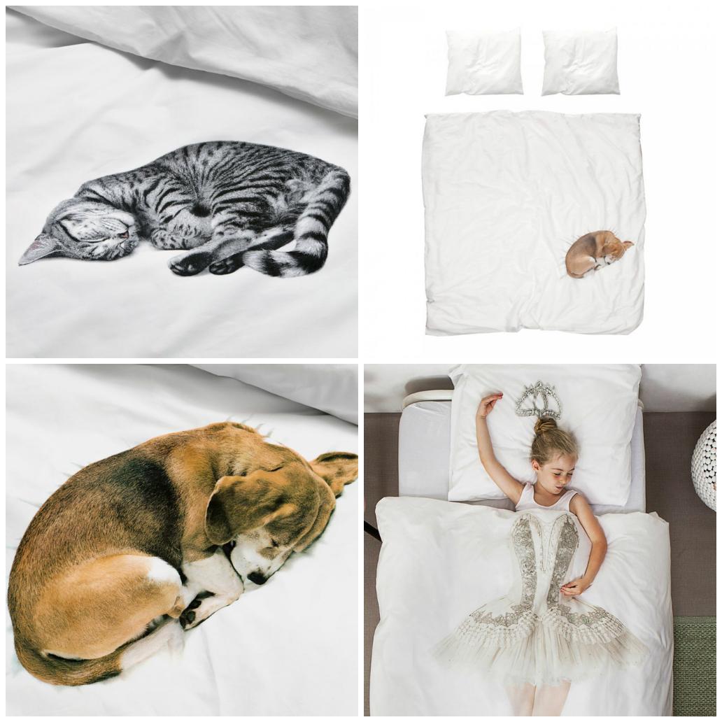Дизайн постельного белья компании SNURK