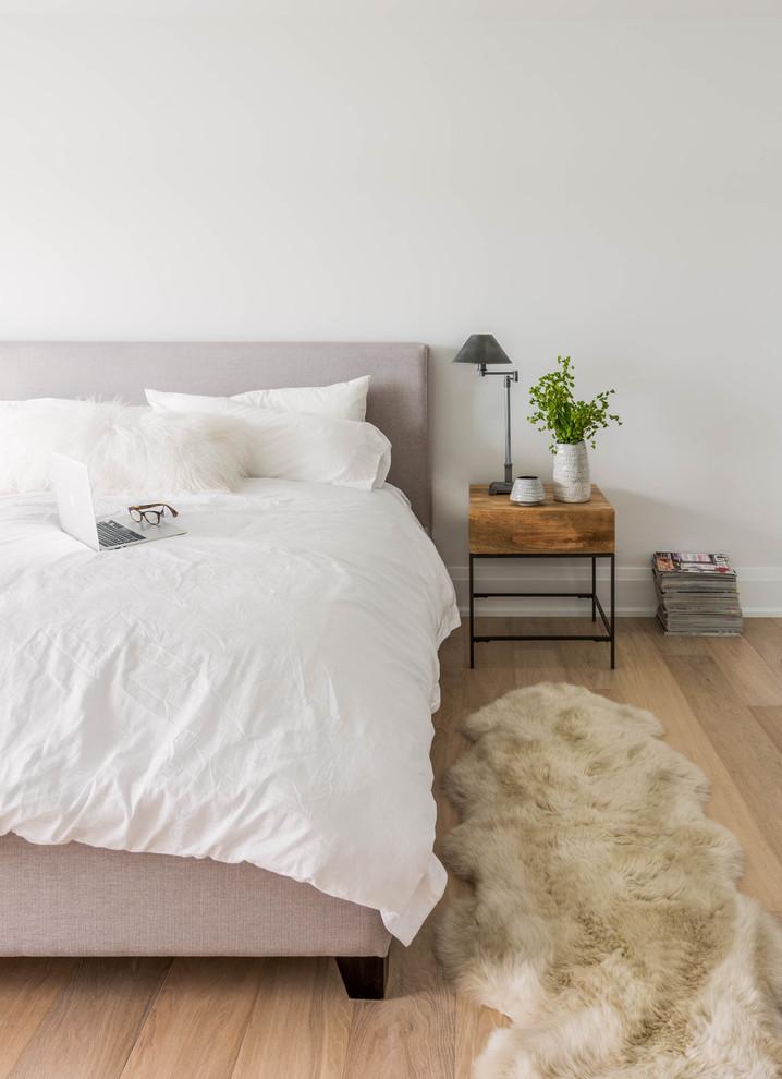 Красивое белое постельное белье