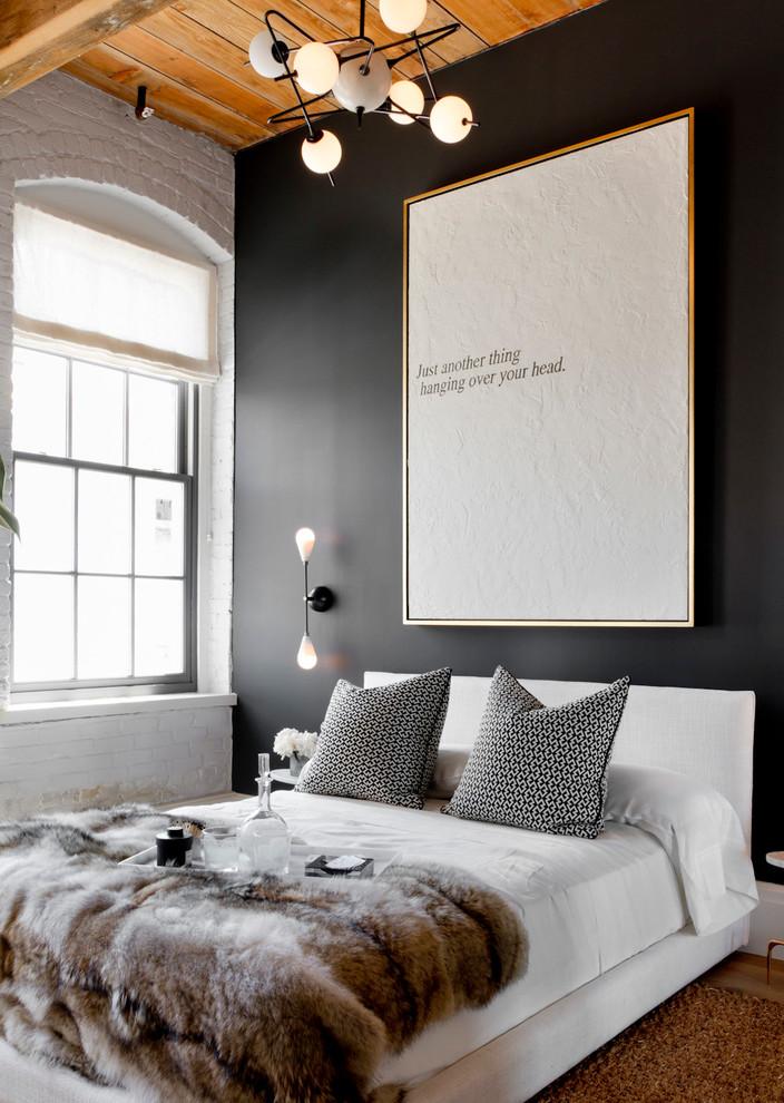 Серые наволочки и белое постельное белье