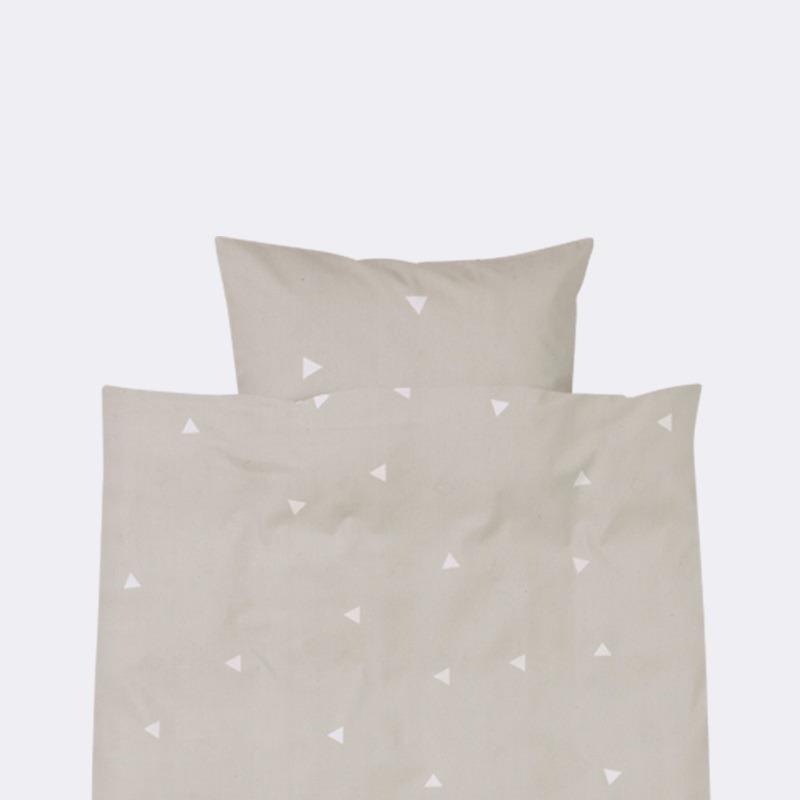 Треугольники на постельном белье