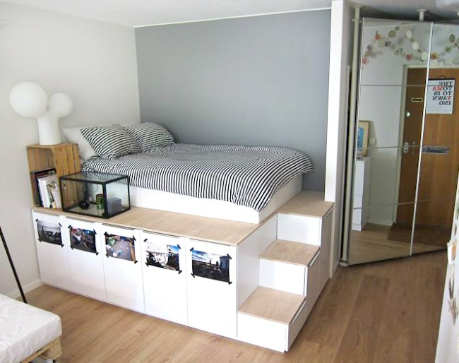 Кровать-платформа от IKEA