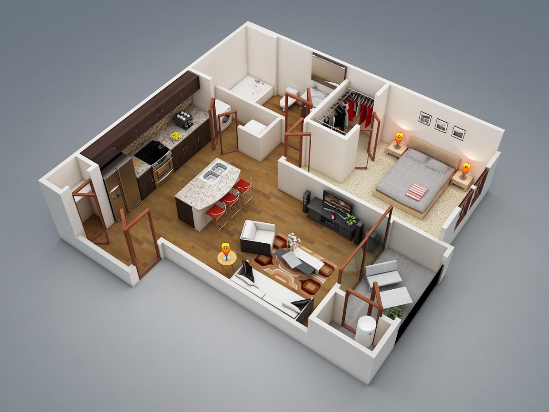 Дизайн квартир с гардеробной