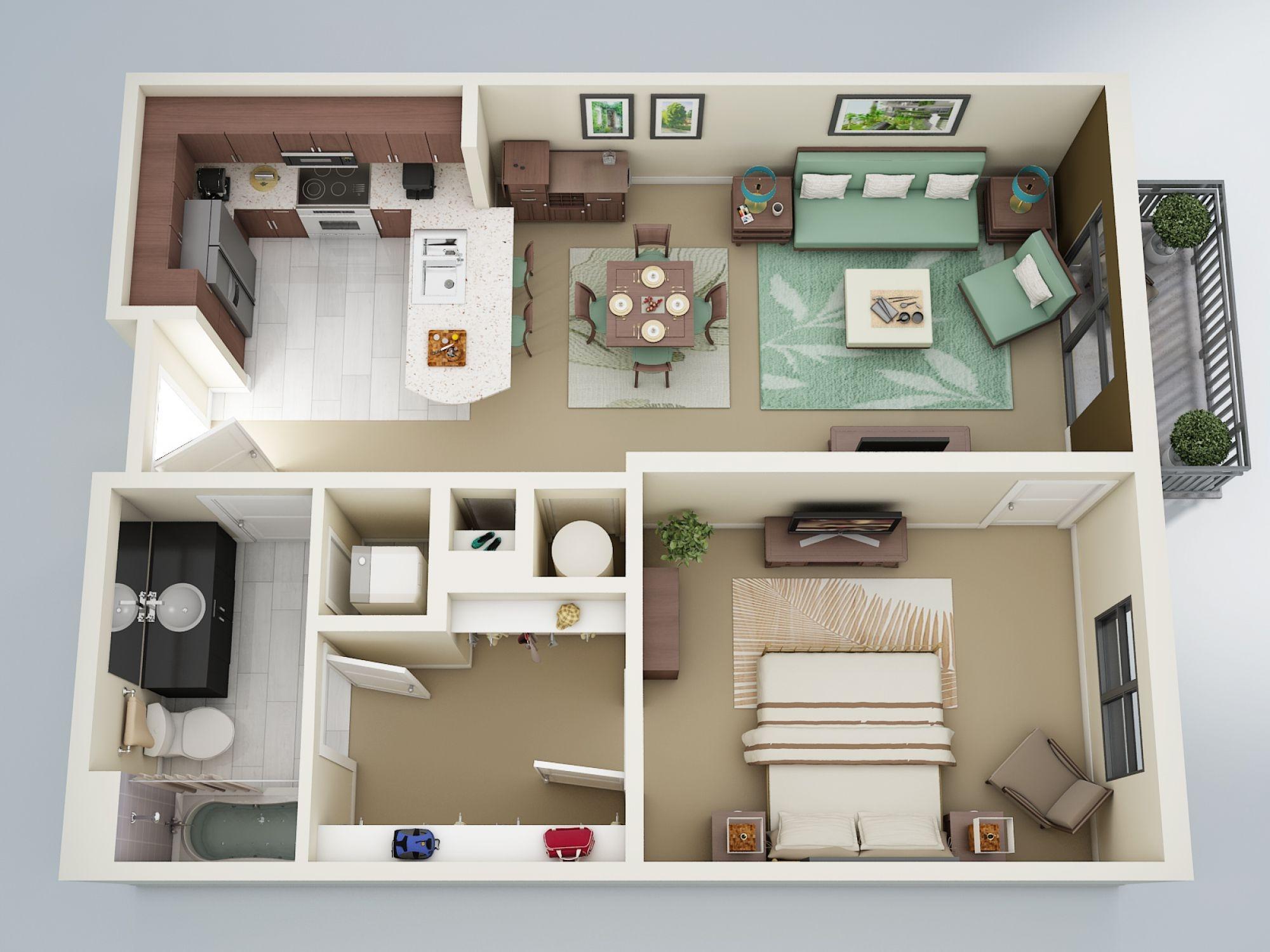 Квартира вид сверху картинки