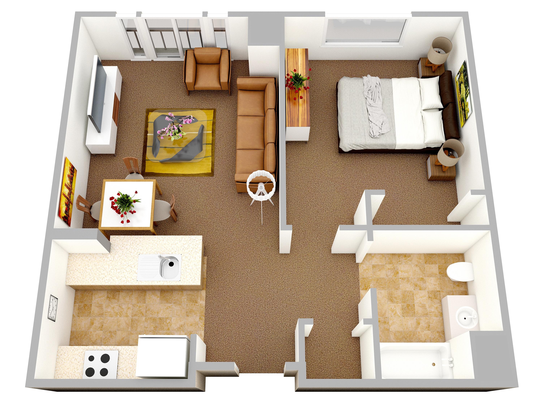 Идея для планировки однокомнатной квартиры фото