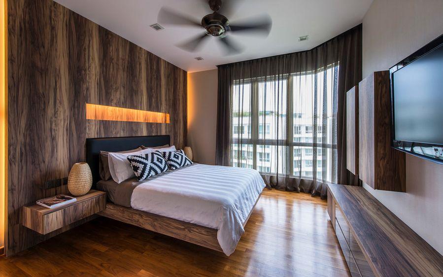 Сногсшибательная тумбочка для хранения мелочей у кровати