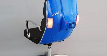 Bel & Bel: реинкарнация культового скутера Vespa в эргономичный предмет офисной мебели