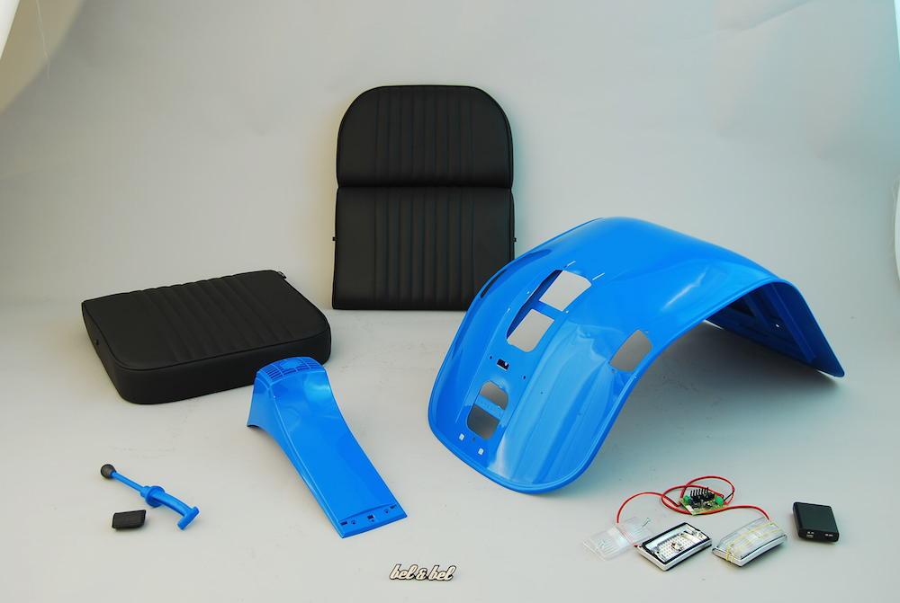 Bel & Bel: реинкарнация культового скутера в эргономичный предмет офисной мебели