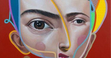 Белин: впечатляющие граффити в стиле нового кубизма