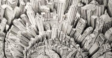 Бен Сак: графические образы фантастических городов