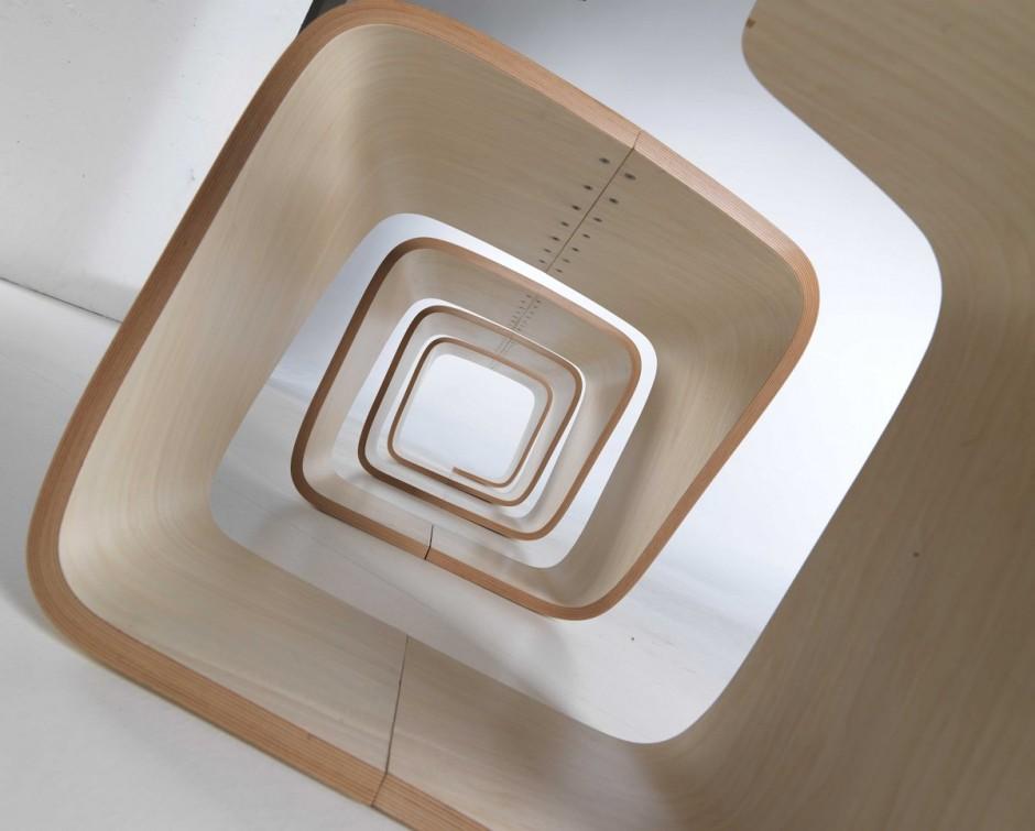 Скамейка True Design в форме дуги