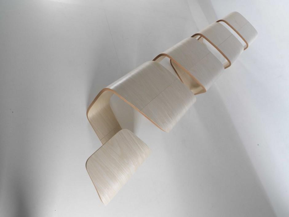 Точное изделие скамейки True Design от Leonardo Rossano