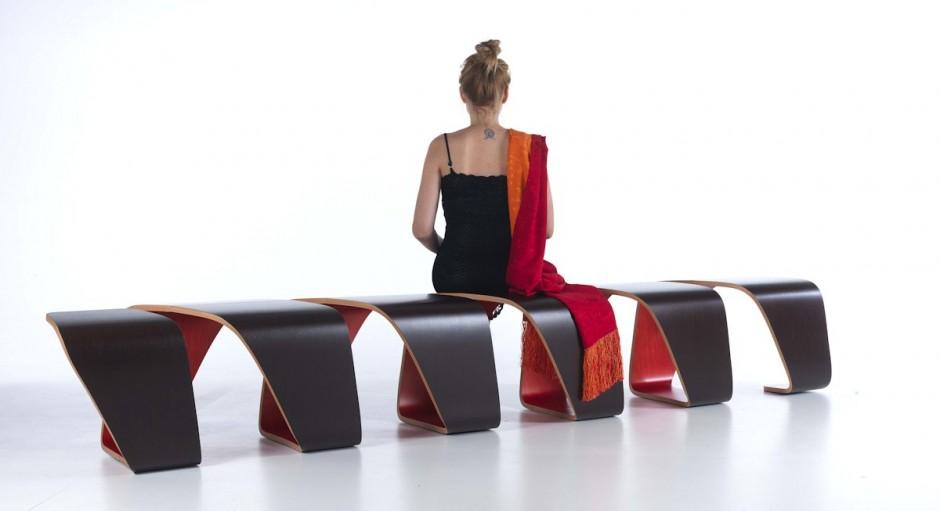 Красивое оформление скамейки True Design от Leonardo Rossano