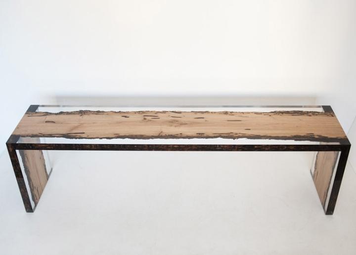 Уникальная деревянная скамья Bent Bench от alcarol