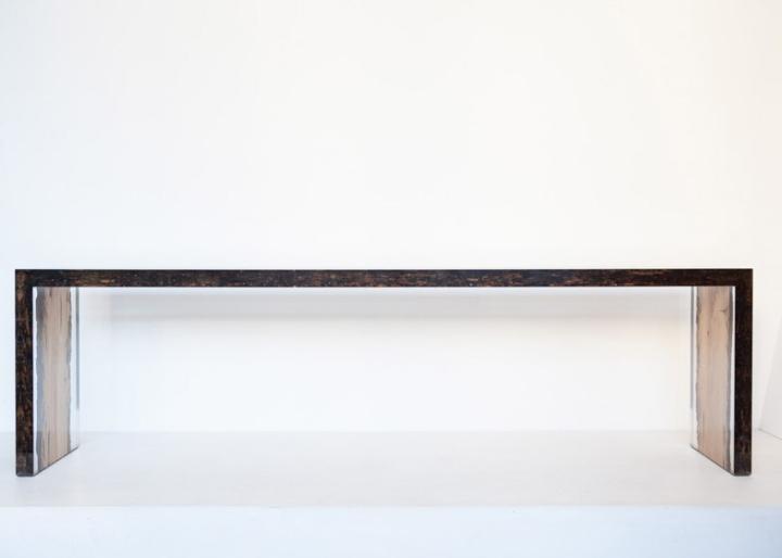 Восхитительная деревянная скамья Bent Bench от alcarol